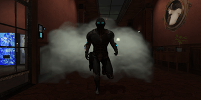 Use gadgets like smoke grenades to cover your escape as Spy